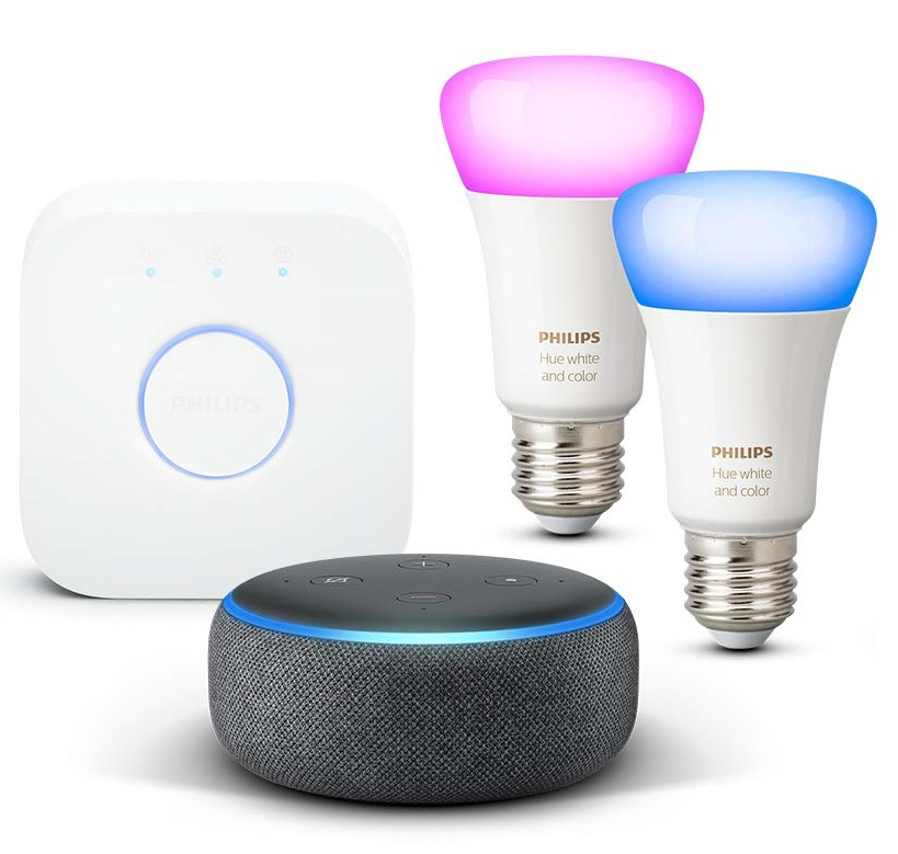 Philips Hue White and Color Ambiance Kit con altavoz inteligente