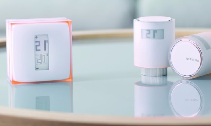 Termostato Netatmo reguladores radiadores