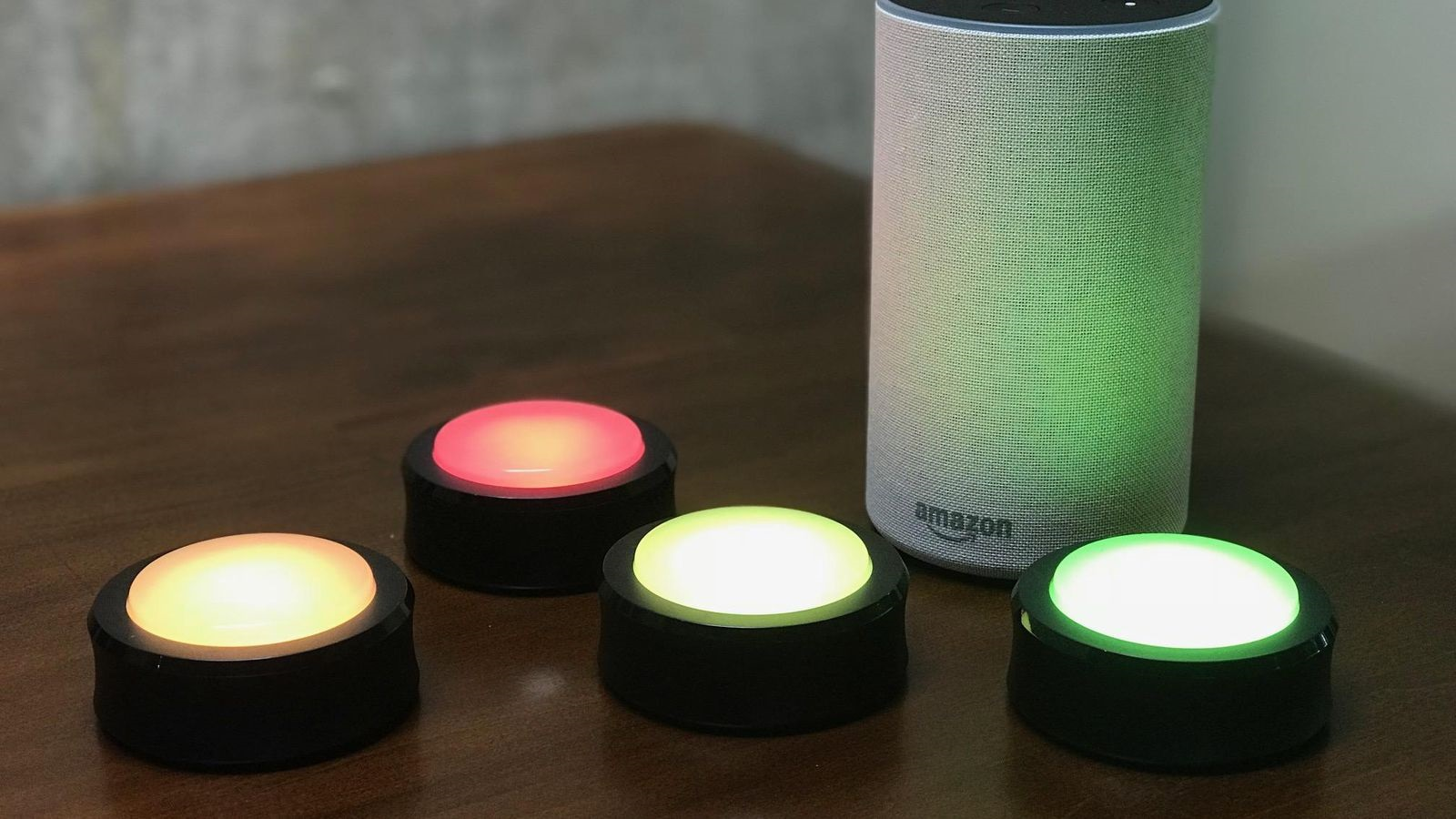 amazon echo con luces