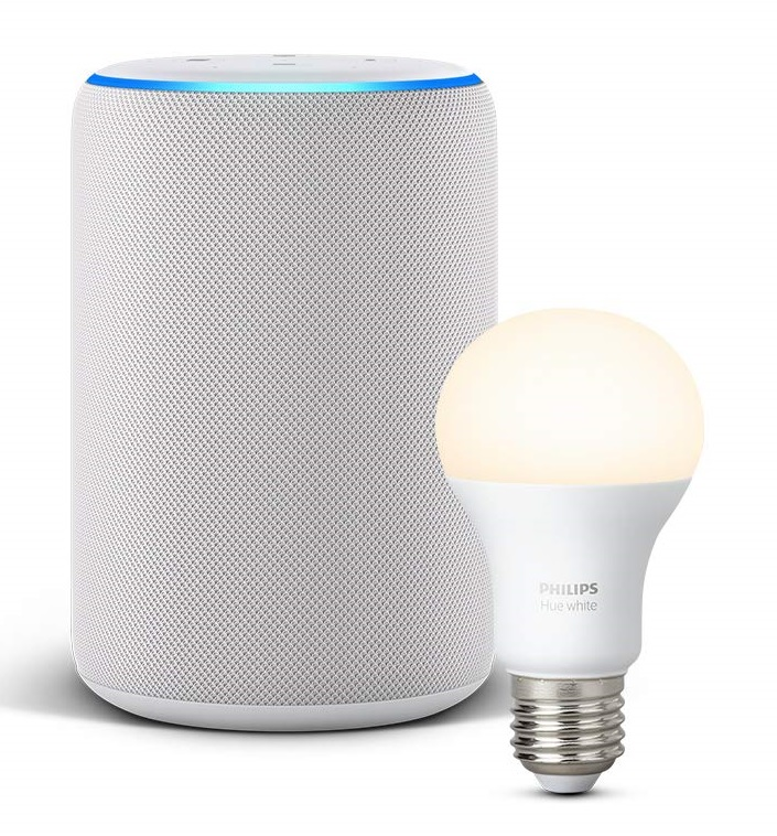 Philips Hue White Bombilla LED con Amazon Echo
