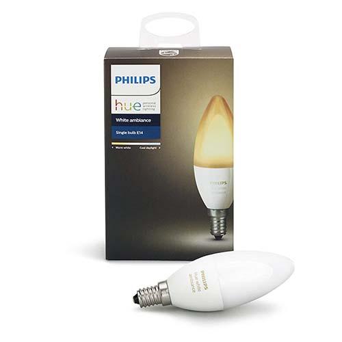 Philips Hue White Ambiance Bombilla LED