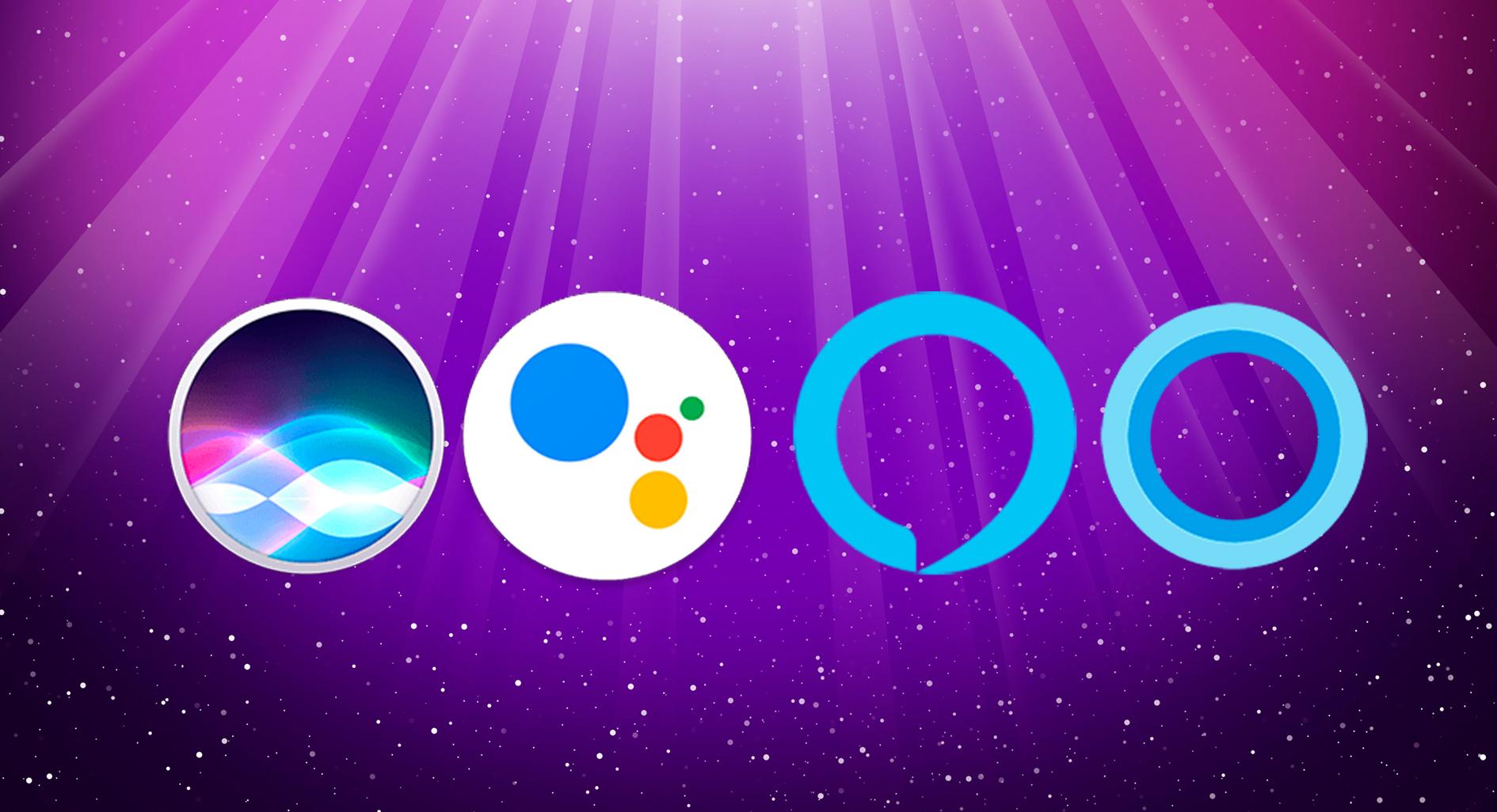 Siri vs Google vs Alexa vs Cortana - Cuál es el mejor asistente de voz