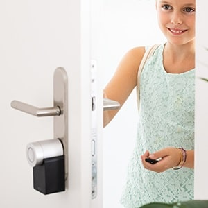 seguridad con las cerraduras inteligentes